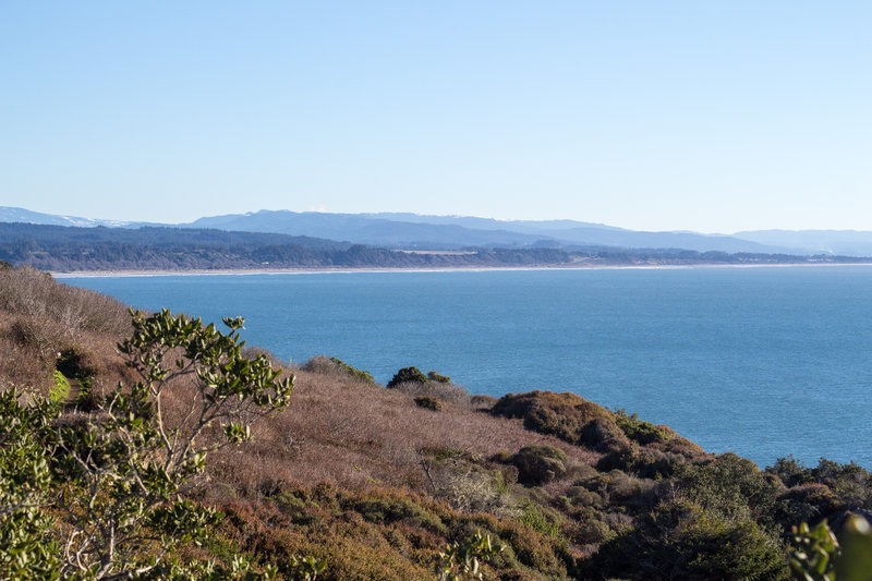 View across Trinidad Bay
