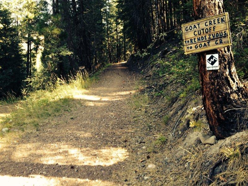 Methow Community Trail at Goat Creek Cutoff