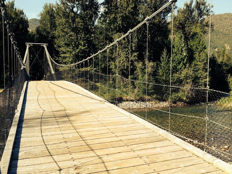 Methow Community Trail - Tawlks-Foster Bridge.