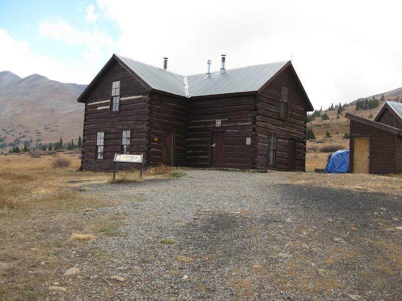 Boreas Pass house