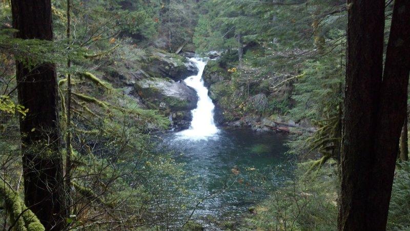 Falls on Siouxon Creek