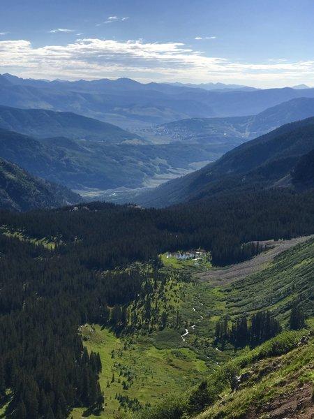 Views from top of Scarps Ridge