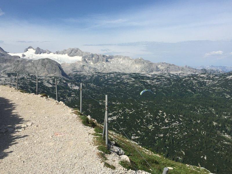Dachstein glaciers.
