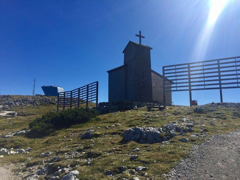 Bergkirche und Welterbespirale