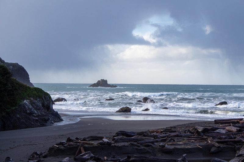 Wilson Rock in False Klamath Cove