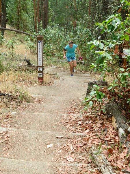 Bandersnatch is a popular running trail.