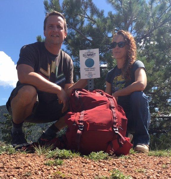 Summit of Dewey Mountain