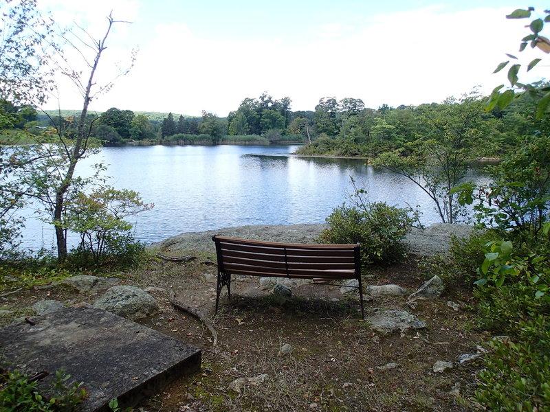 Nice view point of Jordan Pond.