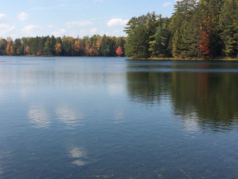 Rock Lake Trail garden spot. Enough said!