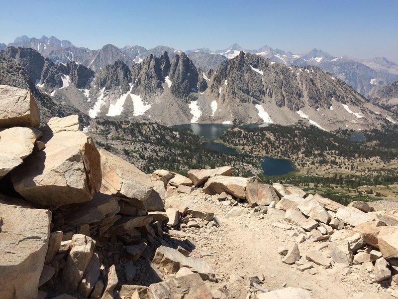 Top of Kearsarge Pass