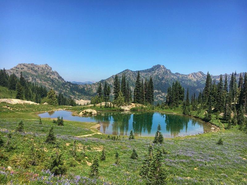 One of the many wonderful lakes