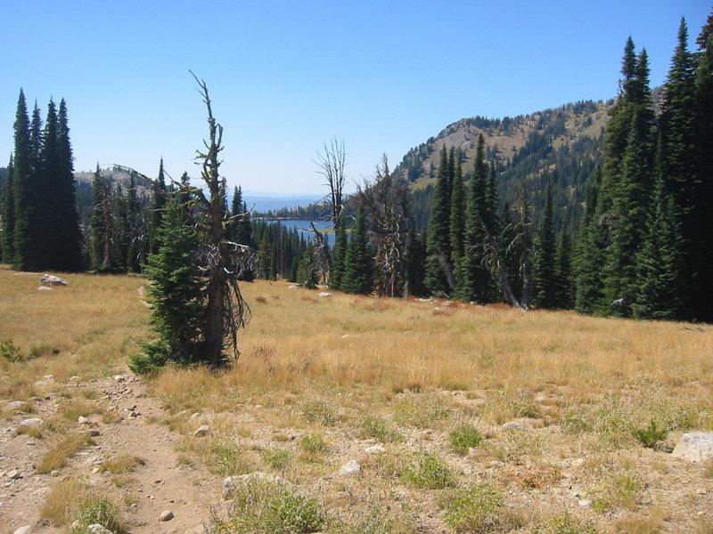 Down to Boulder Lake