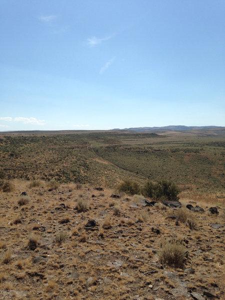 Quite the desert view.