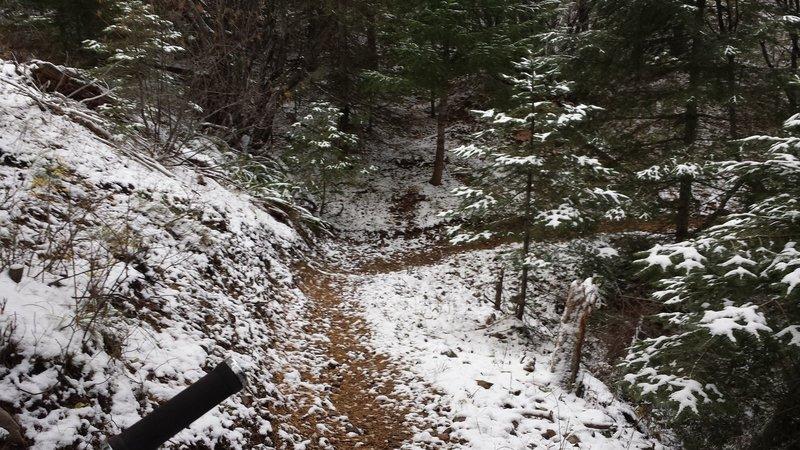 Mera Loop can get plenty snowy.