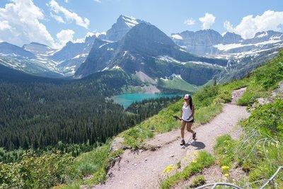 Hiking Trails near Many Glacier