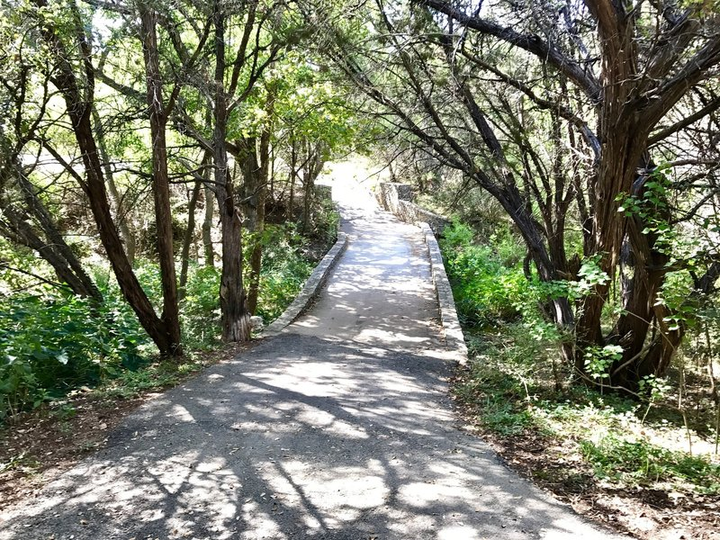 Just a few yards into the Hamilton Greenbelt II Trail from the Palos Verdes Dr parking lot entrance.