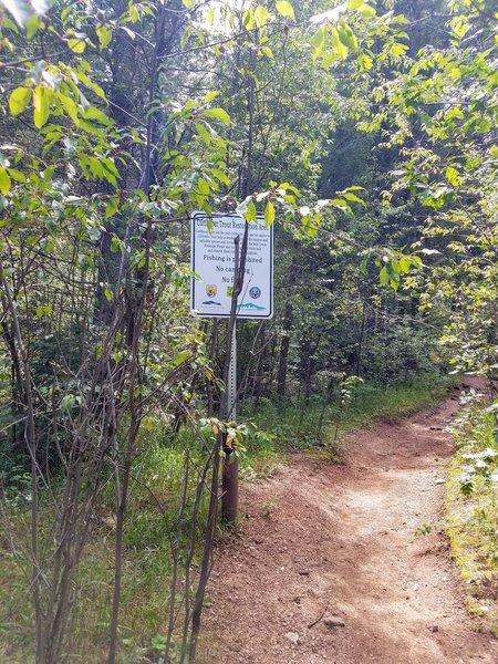 Bear Creek Trailhead (#666)