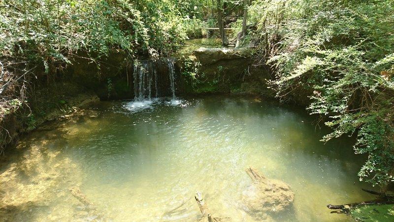 Waterfall along the Ranger (White) Trail.