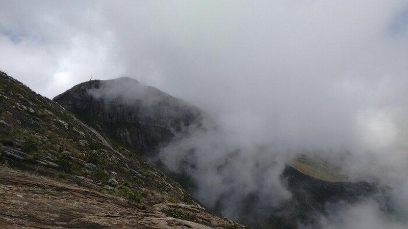 Bandeira Peak seen from Calçado Peak