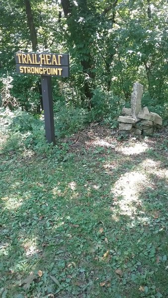 Strong Point Trailhead