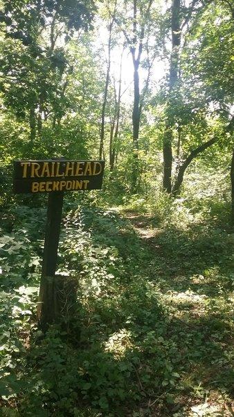 Beck Point Trailhead
