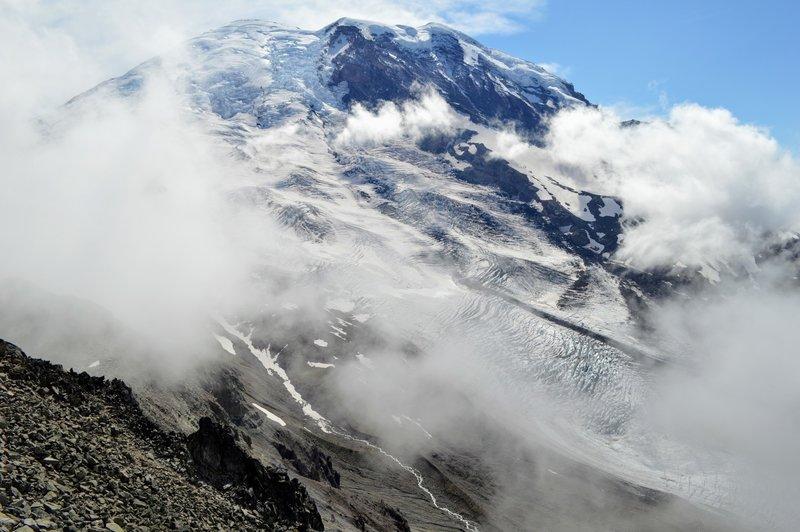 Mount Rainier from Third Burroughs
