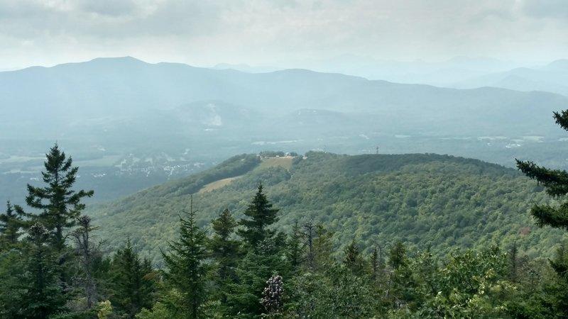 Peak of Cranmore Mountain as seen from Black Cap.