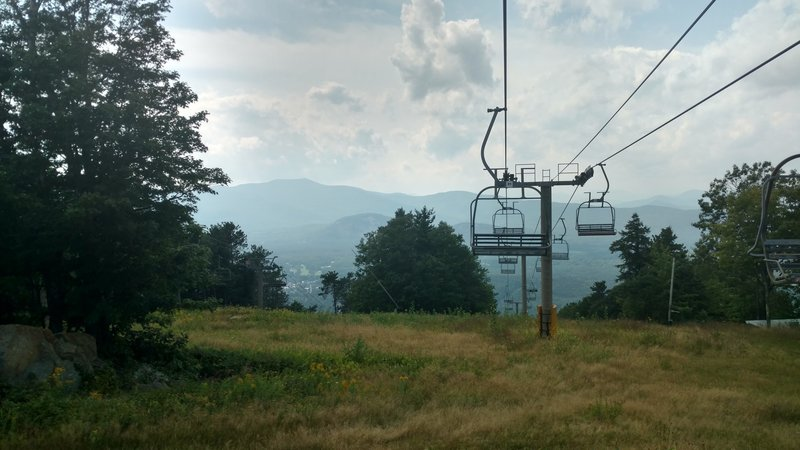 The Chairlift at Cranmore Mountain