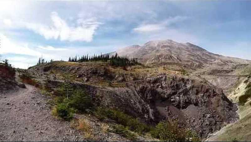 Ape Canyon Trail.
