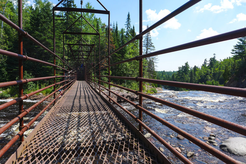 The Swing Bridge is a must to see and cross
