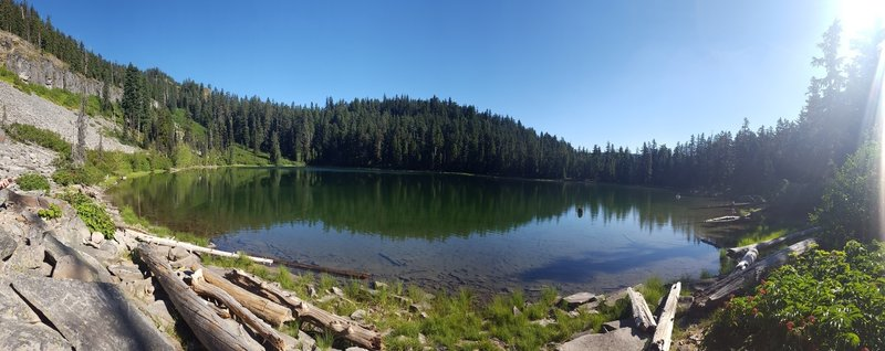 Boulder Lake, West Shore Panorama.