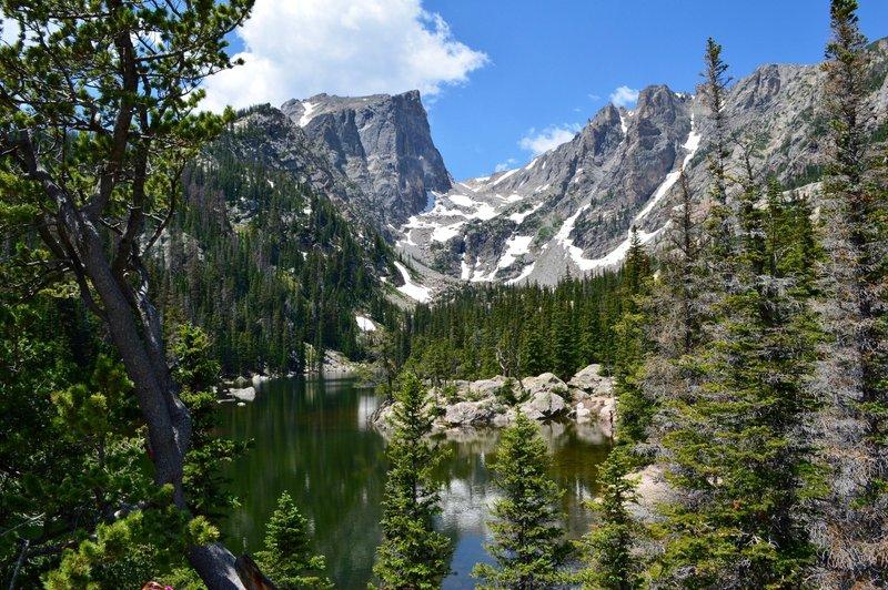 Dream Lake from the Emerald Lake Trail