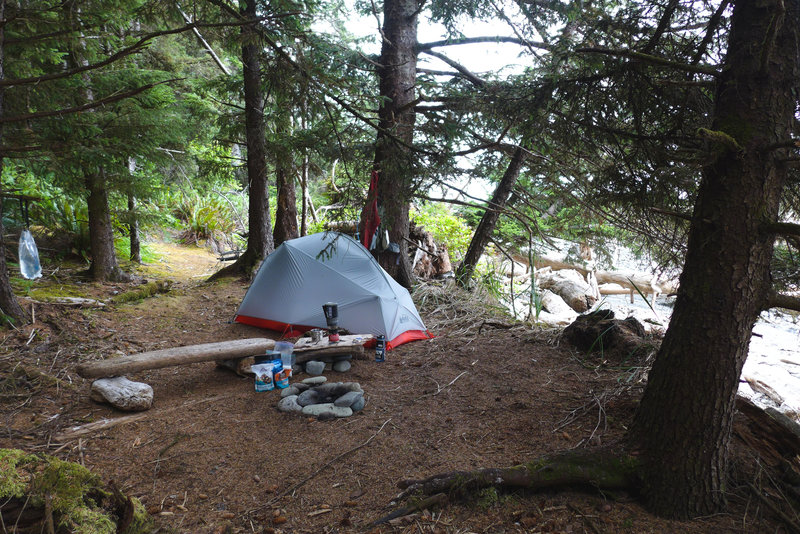 Excellent campspot - permit required