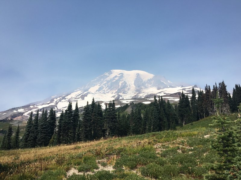 View of Mount Rainier from the Skyline Trail