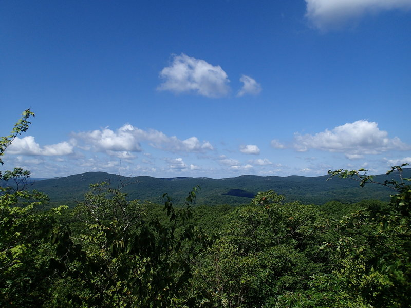 Viewpoint from the top of Round Hill