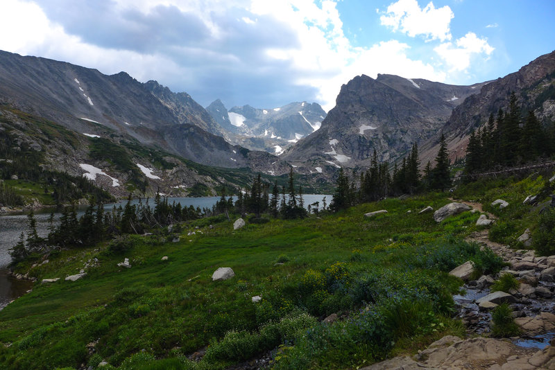 Just another day in paradise (AKA: The Indian Peaks)!