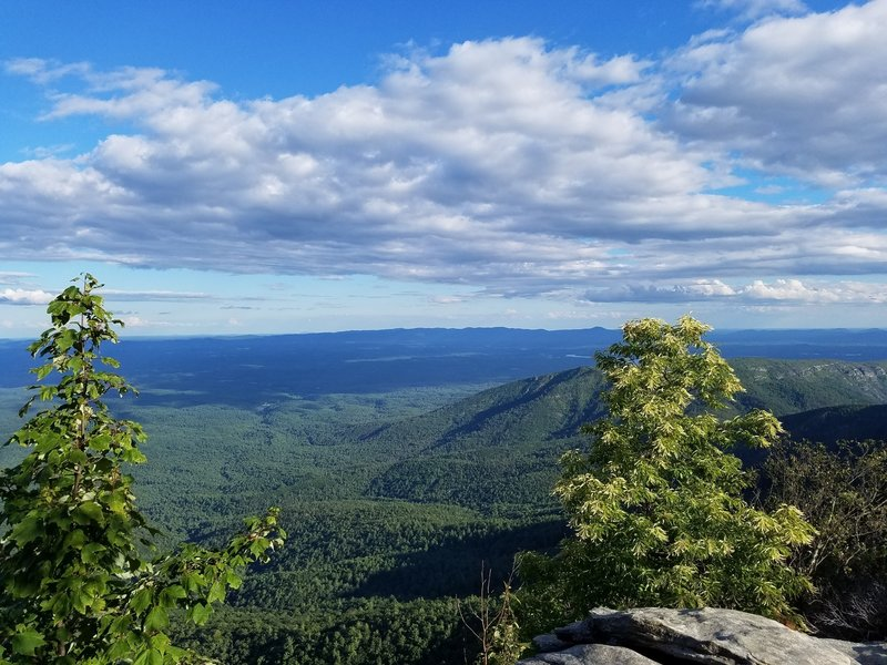 View from Table Rock summit.