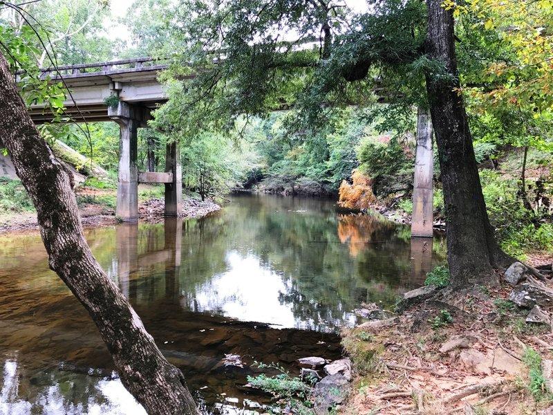 The bridge on Cole Mill Road