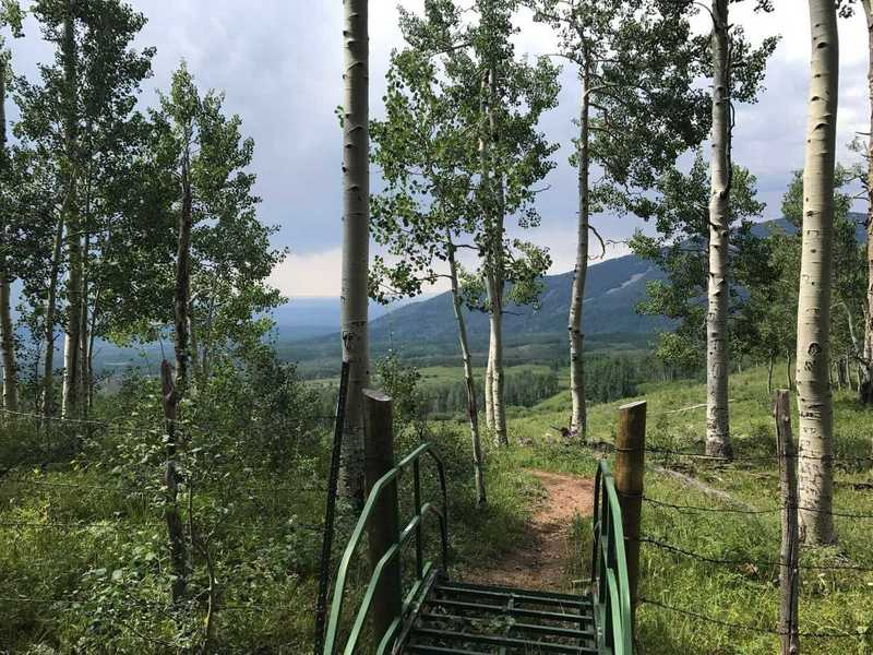 Beautiful apline views abound from this trail