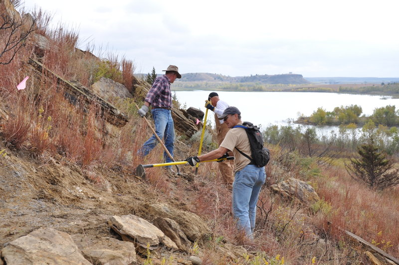 This trail is 99% volunteer work. Thanks to everyone who has helped with labor, finances, and management to create an award-winner in central Kansas.