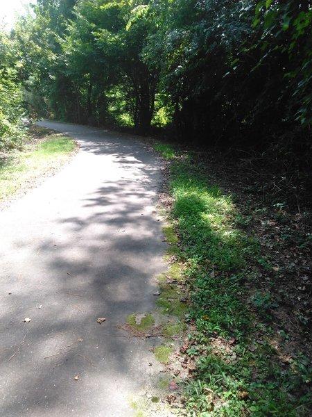Trail along Hare Snipe Creek
