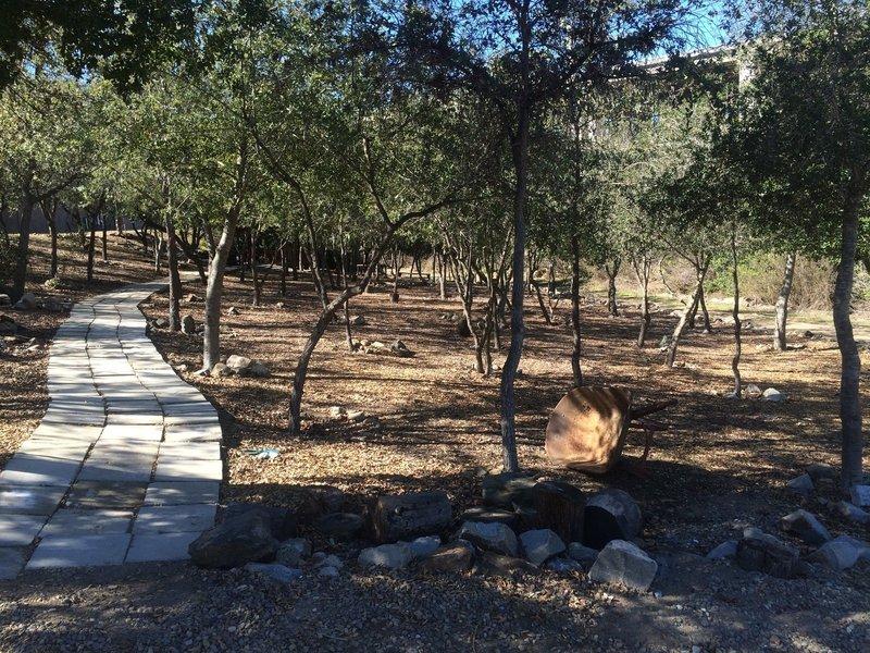 Crime Victim's Memorial Oak Garden.
