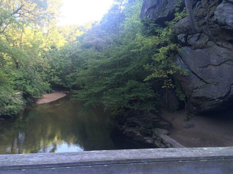Large Boulders along Pennypack Creek