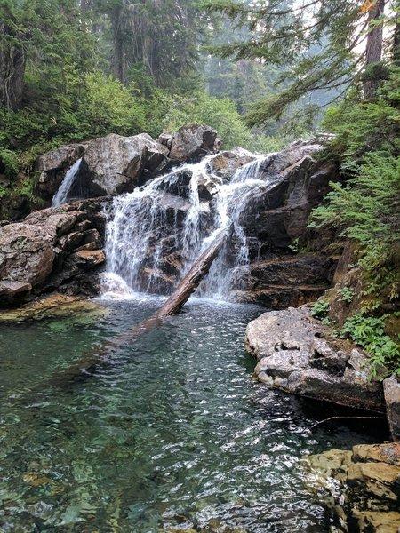 A waterfall on Commonwealth Creek