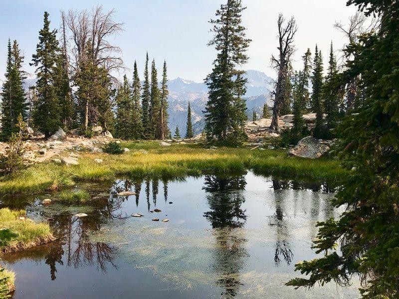 Photographers Point Titcomb Basin trail