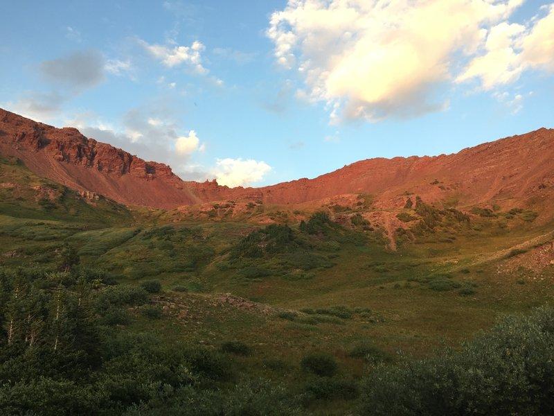 West Maroon Pass sunset.