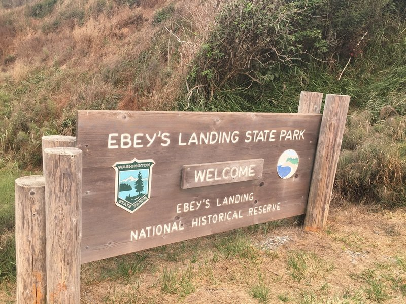 Welcome to Ebey's Landing.