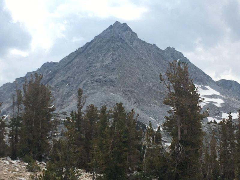 Nameless peak along the trail to Morgan Pass.
