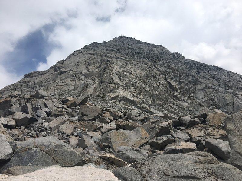 Mount Morgan as seen from Morgan Pass.