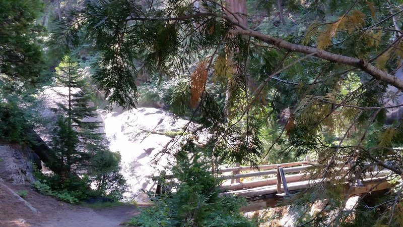 South Fork Bridge - End of the Easy Downhill